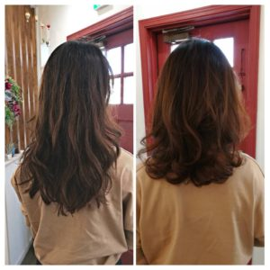 アラフィフのヘアスタイル 山下小百合髪