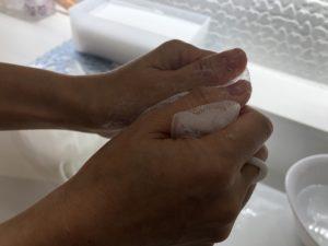 ラ・ジュネスの洗顔レッスン